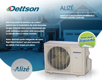 Unité de climatisation extérieure Dettson